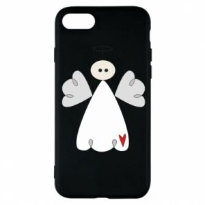 Phone case for iPhone 8 Angel with heart