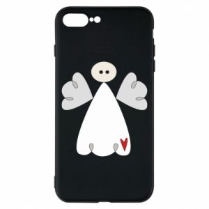 Phone case for iPhone 8 Plus Angel with heart