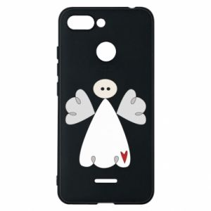 Phone case for Xiaomi Redmi 6 Angel with heart