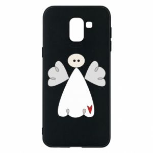 Phone case for Samsung J6 Angel with heart