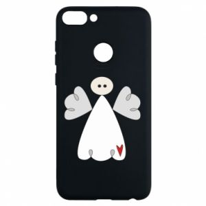 Phone case for Huawei P Smart Angel with heart