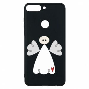Phone case for Huawei Y7 Prime 2018 Angel with heart