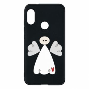 Phone case for Mi A2 Lite Angel with heart