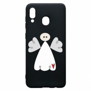 Phone case for Samsung A20 Angel with heart