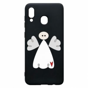 Phone case for Samsung A30 Angel with heart