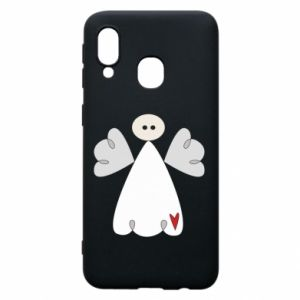 Phone case for Samsung A40 Angel with heart