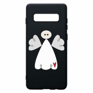 Phone case for Samsung S10+ Angel with heart