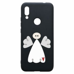 Phone case for Xiaomi Redmi 7 Angel with heart