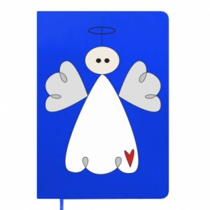 Notepad Angel with heart