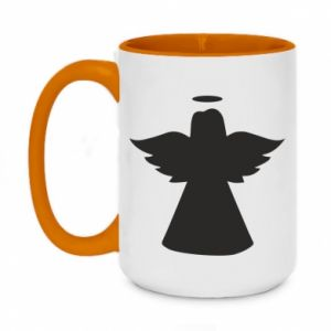 Two-toned mug 450ml Angel