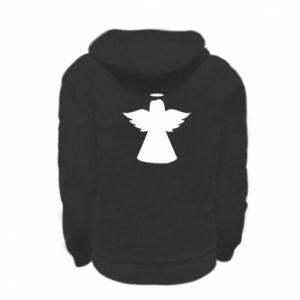 Kid's zipped hoodie % print% Angel