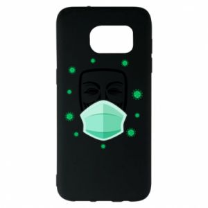 Samsung S7 EDGE Case Anonymous