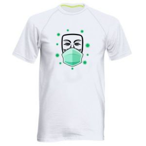 Men's sports t-shirt Anonymous