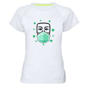 Women's sports t-shirt Anonymous