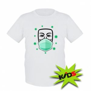 Kids T-shirt Anonymous