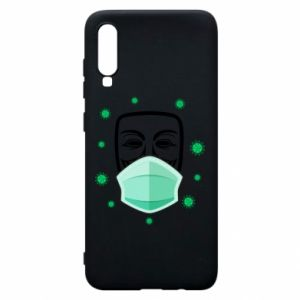 Samsung A70 Case Anonymous
