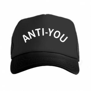 Czapka trucker Anti-you
