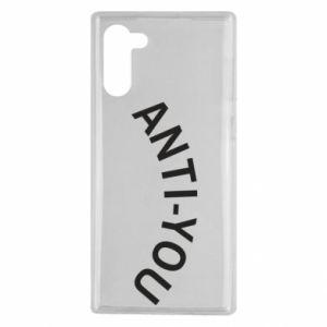 Etui na Samsung Note 10 Anti-you