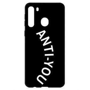 Etui na Samsung A21 Anti-you