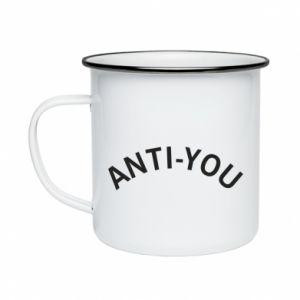Kubek emaliowane Anti-you