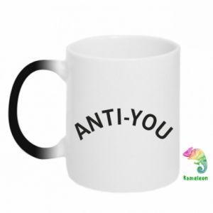 Kubek-kameleon Anti-you