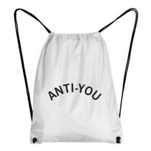 Plecak-worek Anti-you