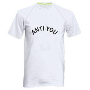 Męska koszulka sportowa Anti-you