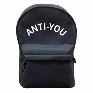 Plecak z przednią kieszenią Anti-you