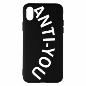 Etui na iPhone X/Xs Anti-you