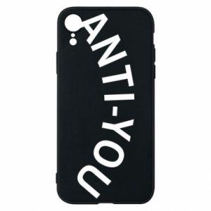 Etui na iPhone XR Anti-you