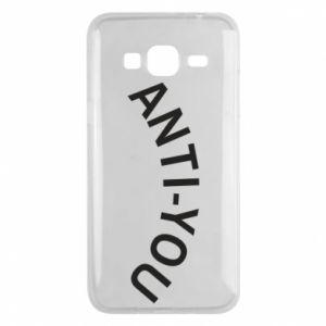 Etui na Samsung J3 2016 Anti-you