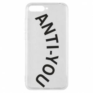 Etui na Huawei Y6 2018 Anti-you