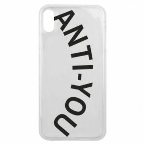 Etui na iPhone Xs Max Anti-you