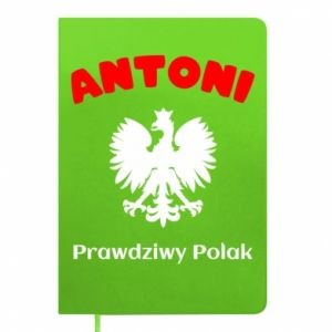 Notepad Antoni is a real Pole