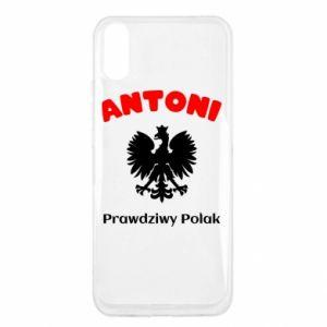 Xiaomi Redmi 9a Case Antoni is a real Pole