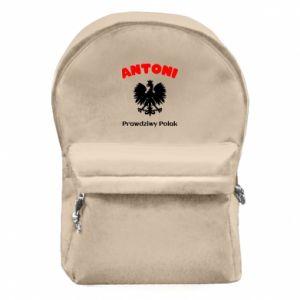Plecak z przednią kieszenią Antoni jest prawdziwym Polakiem