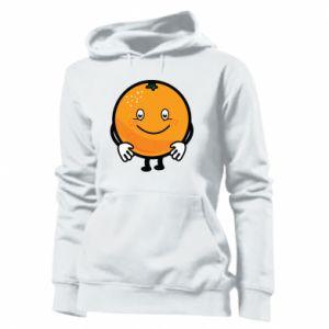 Women's hoodies Orange - PrintSalon
