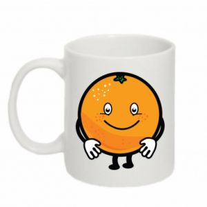Mug 330ml Orange - PrintSalon