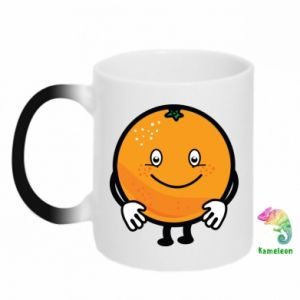 Chameleon mugs Orange