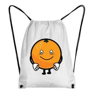 Backpack-bag Orange - PrintSalon