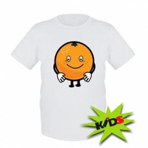 Dziecięcy T-shirt Pomarańcza