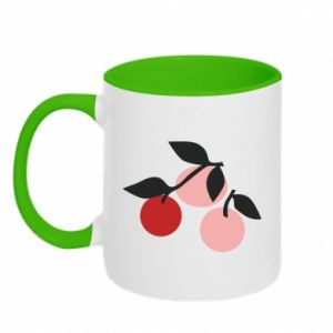 Kubek dwukolorowy Apples on a branch