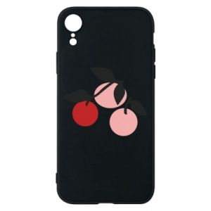 Etui na iPhone XR Apples on a branch