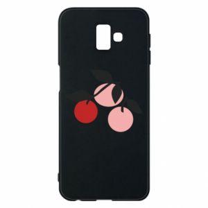 Etui na Samsung J6 Plus 2018 Apples on a branch