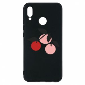 Etui na Huawei P20 Lite Apples on a branch