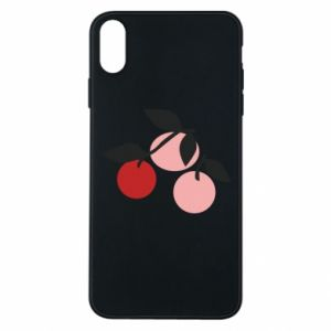 Etui na iPhone Xs Max Apples on a branch