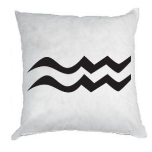Pillow Aquarius constellation - PrintSalon