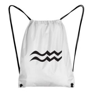 Backpack-bag Aquarius constellation - PrintSalon