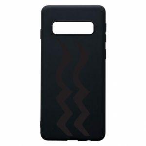 Phone case for Samsung S10 Aquarius constellation - PrintSalon