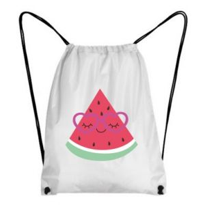 Backpack-bag Watermelon with glasses